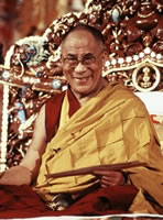 His Holiness the XIVth Dalai Lama, Tenzin Gyatso