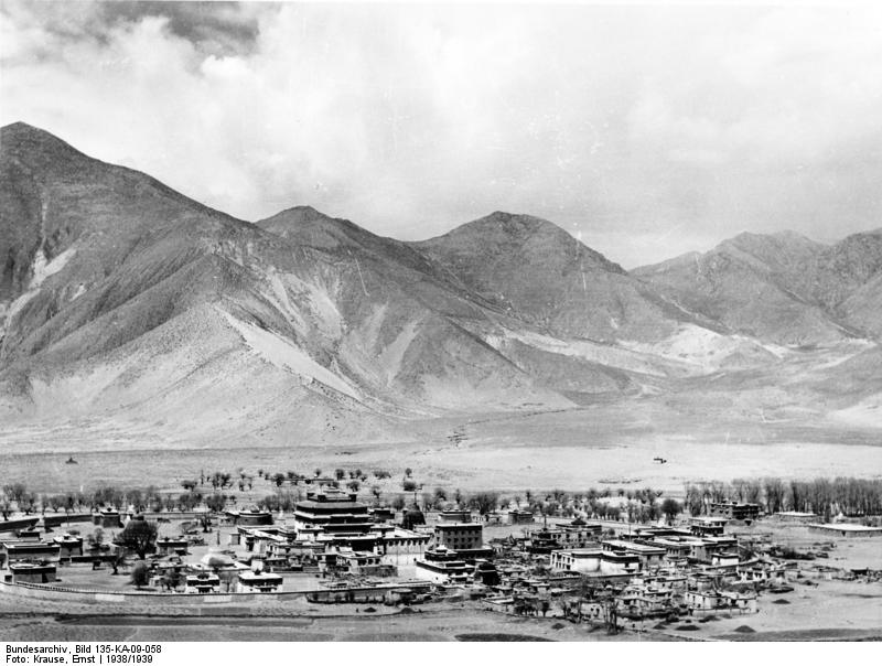 Monastery Samye 1938, Tibet expedition