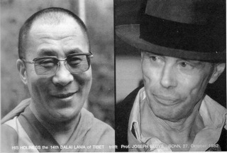 Book on the meeting of HH the Dalai Lama with Joseph Beuys, 27 October 1982 in Bonn