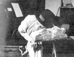 In 1965 Joseph Beuys rests his cheek on fat at Galerie Parnass in Wuppertal so as to say that everything changes its form if you approach it with LOVE