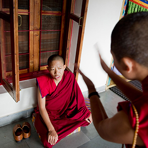 Buddhist nuns – debating